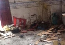 Công an điều tra vụ nổ lớn trong nhà Chủ tịch xã Đồng Hợp