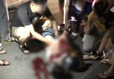 Cô gái bị đâm trọng thương khi đang dạo phố