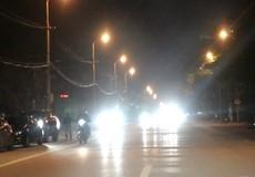 Sử dụng đèn chiếu xa khi tham gia giao thông trong thành phố có bị xử phạt không?
