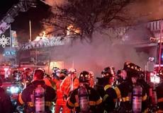 12 người bị thương trong 1 vụ cháy ở New York