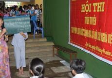 Ấn tượng hội thi tuyên truyền Ngày Pháp luật Việt Nam ở huyện