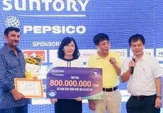 Giải Gôn Hữu nghị của PepsiCo gây quỹ xây 10 công trình nước sạch tại tỉnh Bến Tre