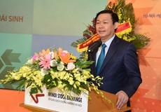 Phó Thủ tướng Vương Đình Huệ dự lễ khai trương thị trường chứng khoán phái sinh