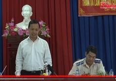 Thứ trưởng Trần Tiến Dũng thăm và làm việc với Cục THADS TP Cần Thơ