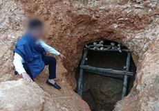 """Tiếp vụ """"đột kích"""" bãi cát """"khủng"""" ở Kon Tum: Đồn Biên phòng ngăn cản, xã làm ngơ"""