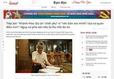 Khánh Hòa: Kiến nghị thu hồi dự án có thỏa đáng?
