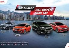 Honda Việt Nam chính thức công bố Giá bán lẻ đề xuất các mẫu ôtô nhập khẩu nguyên chiếc từ Thái Lan
