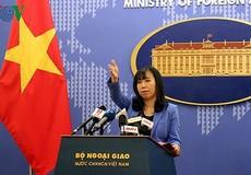 Việt Nam kiên quyết bác bỏ 'quy chế nghỉ đánh bắt cá trên biển' đơn phương của Trung Quốc