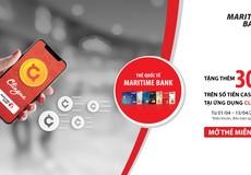 Maritime Bank phối hợp với ứng dụng Clingme mang đến ưu đãi tặng thêm 30%