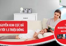 Cơ hội xem chung kết Cup C1 và nhận ưu đãi 1,5 triệu khi cùng Maritime Bank sắm đồ tại Nguyễn Kim