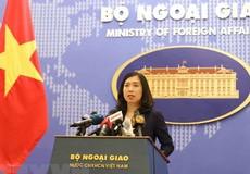 Việt Nam phản đối việc sử dụng vũ lực