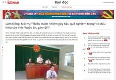 """Vụ """"Thiếu trách nhiệm gây hậu quả nghiêm trọng"""" ở Lâm Đồng: Đã hình sự hóa các quan hệ kinh tế, hành chính?"""