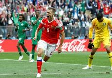 Nga giành chiến thắng năm sao trong trận mở màn World Cup 2018
