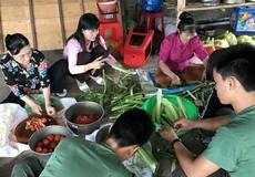 Ấm áp mô hình tổ phụ nữ nuôi quân ở Sông Trầu