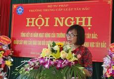 Thứ trưởng Đặng Hoàng Oanh: Trung cấp Luật Tây Bắc cần nâng cao chất lượng, thương hiệu