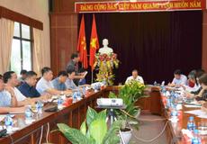 Thứ trưởng Bộ Công Thương Cao Quốc Hưng làm việc với Tổng công ty Giấy Việt Nam