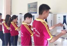 27 trường học tại huyện Tân Trụ (Long An) được trang bị hàng trăm máy lọc nước mới