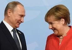 Tổng thống Nga hội đàm Thủ tướng Đức