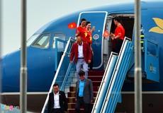 Đội tuyển Olympic Việt Nam đã về tới Hà Nội