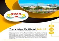 Khai trương Trang thông tin điện tử quận 10 TP HCM