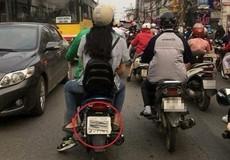 Che biển số xe - nhiều tài xế Grab phạm luật