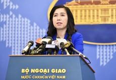 Việt Nam lên tiếng về hoạt động của tàu Anh, Nhật trên Biển Đông