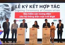 BIC cung cấp gói bảo hiểm sản lượng điện cho giải pháp điện mặt trời BigK
