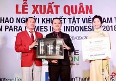 Herbalife và VPC tài trợ cho 54 vận động viên tham dự Asian Para Games 2018