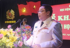 Học viện An ninh nhân dân khai giảng năm học mới 2018-2019
