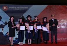 Trường Đại học Ngoại thương: Khoa Sau đại học tổ chức khai giảng và trao bằng tốt nghiệp tiến sĩ, thạc sĩ năm 2018