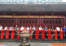Khánh thành Đền thờ tại khu di tích lịch sử Ngã ba Đồng Lộc