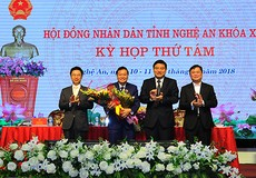 Ông Lê Hồng Vinh trúng cử Phó chủ tịch UBND tỉnh Nghệ An