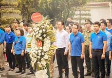 Đoàn thanh niên Bộ Tư pháp về Hà Tĩnh tri ân liệt sỹ