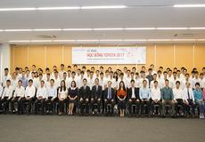 115 sinh viên xuất sắc được nhận học bổng Toyota 2017