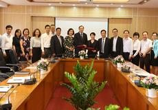 """UBCKNN """"bắt tay"""" với  Deloitte Việt Nam nhằm nâng cao chất lượng đội ngũ"""