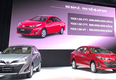 """Ra mắt Vios và Yaris thế hệ mới, Toyota Việt Nam đặt mục tiêu doanh số """"khủng"""""""