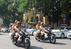 Hà Nội bắt đầu đợt cao điểm xử lý vi phạm quy định giao thông
