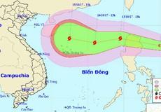 ATNĐ tăng cấp tiến sát biển Đông, hướng vào Bắc Trung bộ