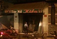 Tiệm cắt tóc cháy dữ dội trong đêm, 2 người thiệt mạng