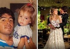 Hé lộ lý do Maradona lỡ hẹn đám cưới con gái
