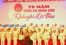 650 cán bộ chiến sĩ tham gia Liên hoan Nghệ thuật quần chúng Công an tại Cần Thơ