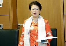 Bà Phan Thị Mỹ Thanh xin thôi nhiệm vụ ĐBQH vì lý do sức khỏe