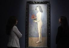 Bức họa bé gái khỏa thân của Picasso gây tranh luận