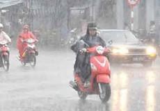 Cảnh báo cuối tuần Hà Nội và nhiều tỉnh mưa lớn
