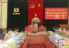 Thứ trưởng Đặng Hoàng Oanh đánh giá cao kết quả theo dõi thi hành pháp luật tại Bộ Công an