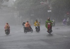 Cảnh báo đầu tuần mưa lớn diện rộng ở Bắc bộ