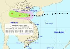 Đêm nay, bão giật cấp 10 hoành hành ven biển Thái Bình - Hà Tĩnh