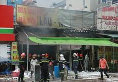 Thiếu nữ tử vong trong đám cháy tại Hà Nội