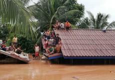 6 làng chìm trong nước, hàng trăm người mất tích do vỡ đập ở Lào
