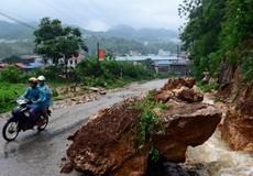 Cuối tuần miền Bắc mưa nhiều, nguy cơ cao lũ quét, sạt lở đất ở vùng núi